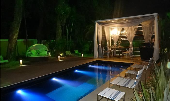 Espa o piscina residencial galeria da arquitetura for Projeto x piscina