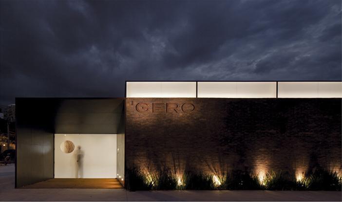Restaurante gero comercial galeria da arquitetura for Casa moderna restaurante salta