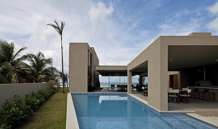 Casa Praia Dos Lagos Ii Residencial Galeria Da Arquitetura