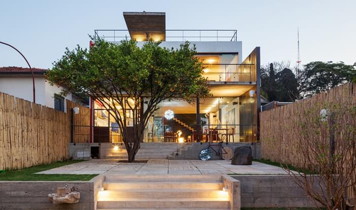 Casa Pepiguari Residencial Galeria Da Arquitetura