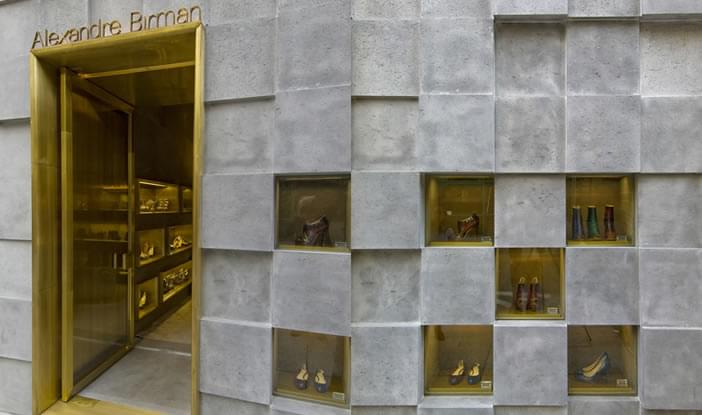 ca1d021df Loja Alexandre Birman - Comercial | Galeria da Arquitetura