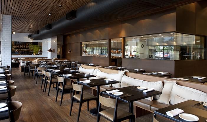 Cort 233 S Restaurante Comercial Galeria Da Arquitetura