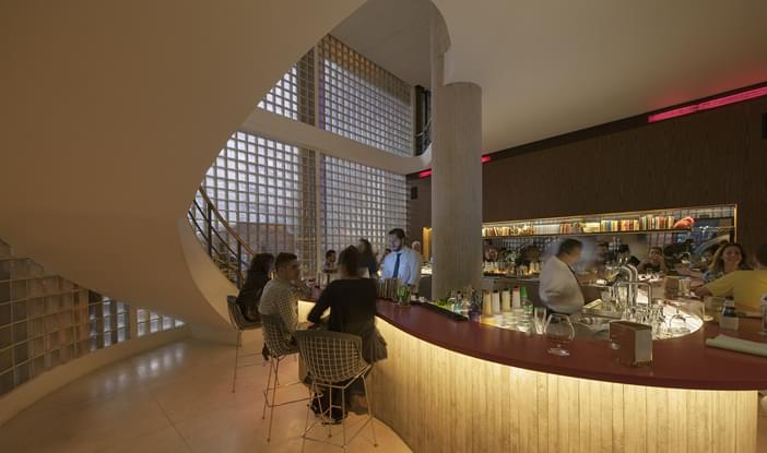 bar riviera comercial galeria da arquitetura. Black Bedroom Furniture Sets. Home Design Ideas
