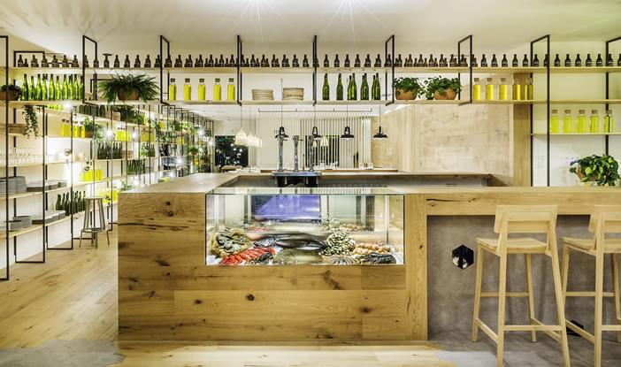 Restaurante atrapallada comercial galeria da arquitetura - Restaurante atrapallada ...