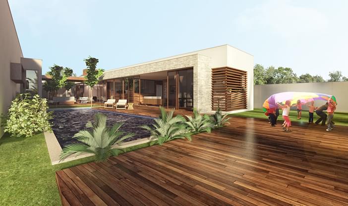 Casa P Tio Residencial Galeria Da Arquitetura
