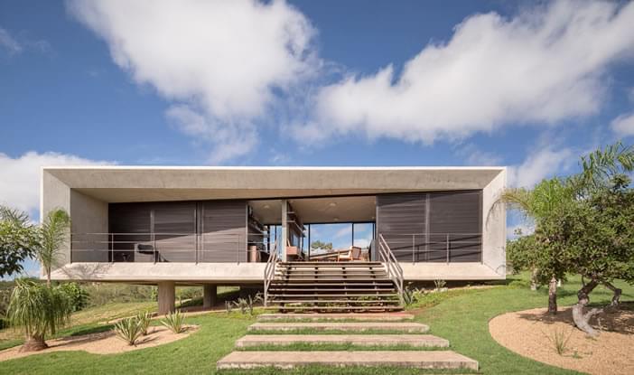 Casa Solar Da Serra Residencial Galeria Da Arquitetura