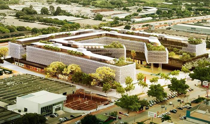 Complexo multiuso uso misto galeria da arquitetura - Arquitecto de brasilia ...