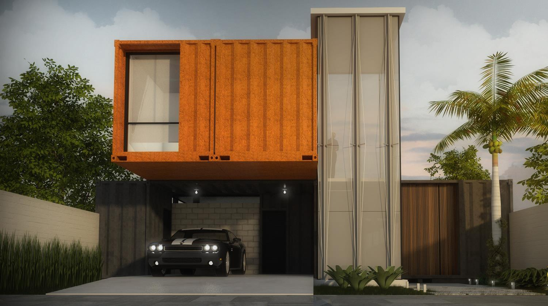 casa container galeria da arquitetura