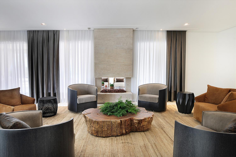 Casa Decorada Luxo Galeria Da Arquitetura -> Salas De Luxo Decoradas