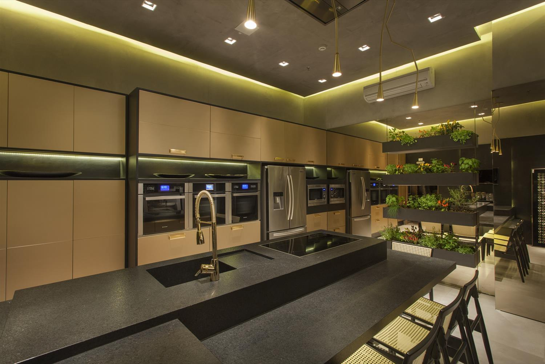 objetivo do escritório C S interior design para o projeto Cozinha  #A39128 1500 1001