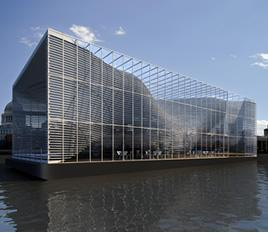 [T[TIPOLOGIA]] - Adaptable architecture gallery on the Thames River