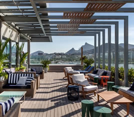 [T[TIPOLOGIA]] - Rooftop do hotel Prodigy Santos Dumont