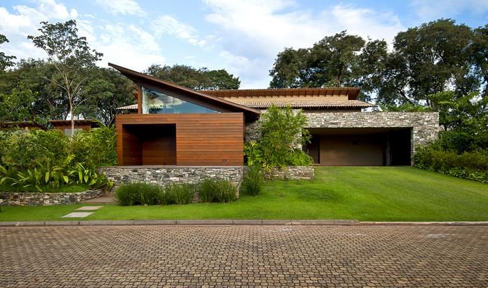 Casa Madeira Residencial Galeria Da Arquitetura